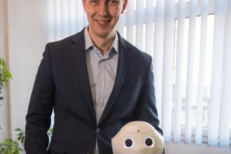 Hamarosan dolgozni kezd Pepper, az ügyfélszolgálatos robot