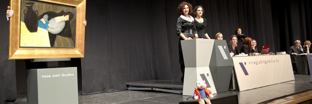 aukció,Virág Judit,műtárgyak ára