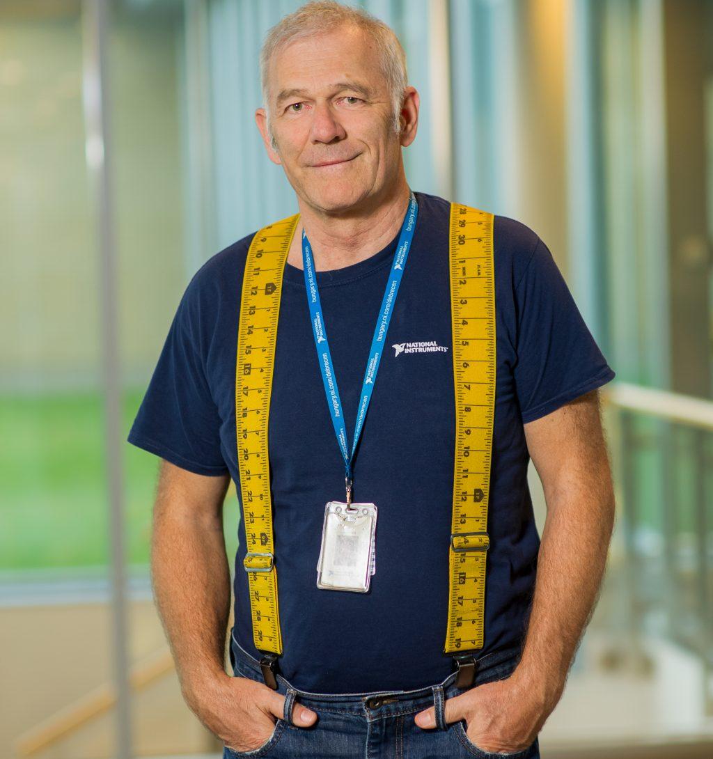 Dr. Ábrahám László, az NI Hungary Kft. volt ügyvezetője, a Sensirion Kft. ügyvezetője
