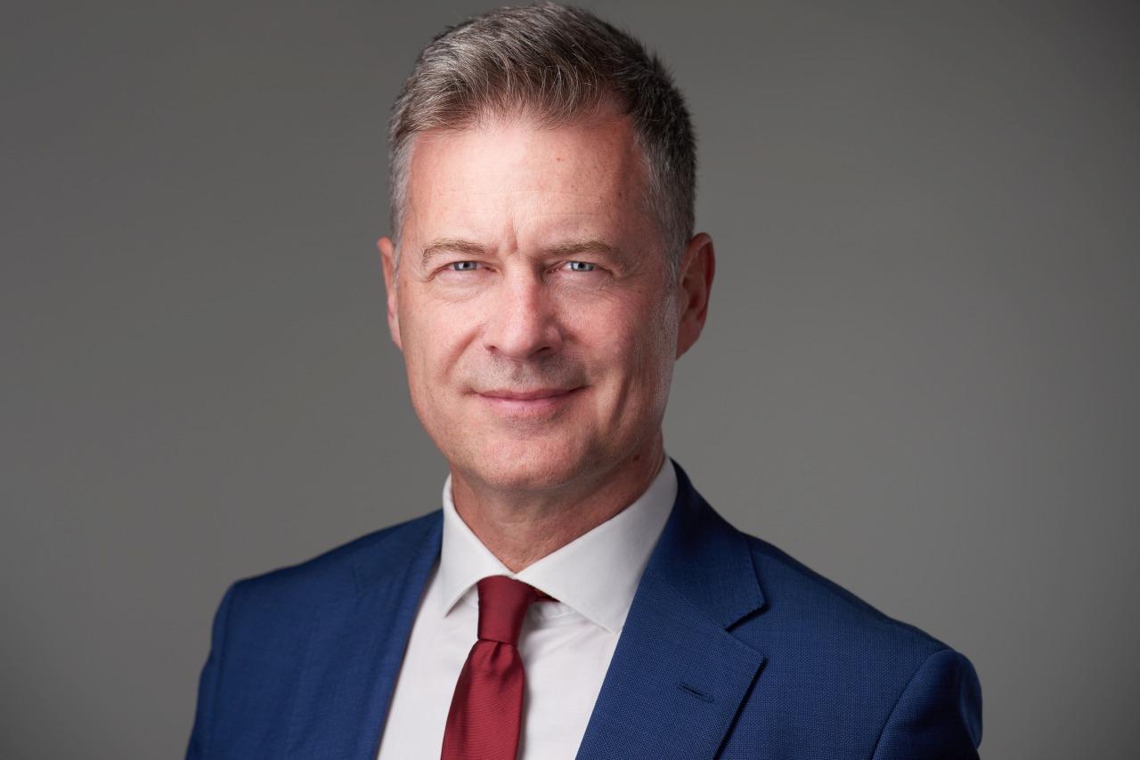 dr. Bársony Farkas, az Amerikai Kereskedelmi Kamara elnöke, a Kondor Holding ügyvezető partnere