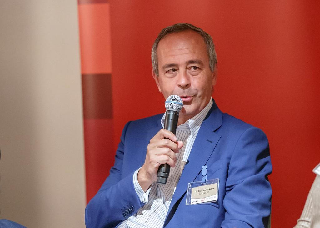 dr. Homonnay Géza, a Gamax Cégcsoport tulajdonos vezetője