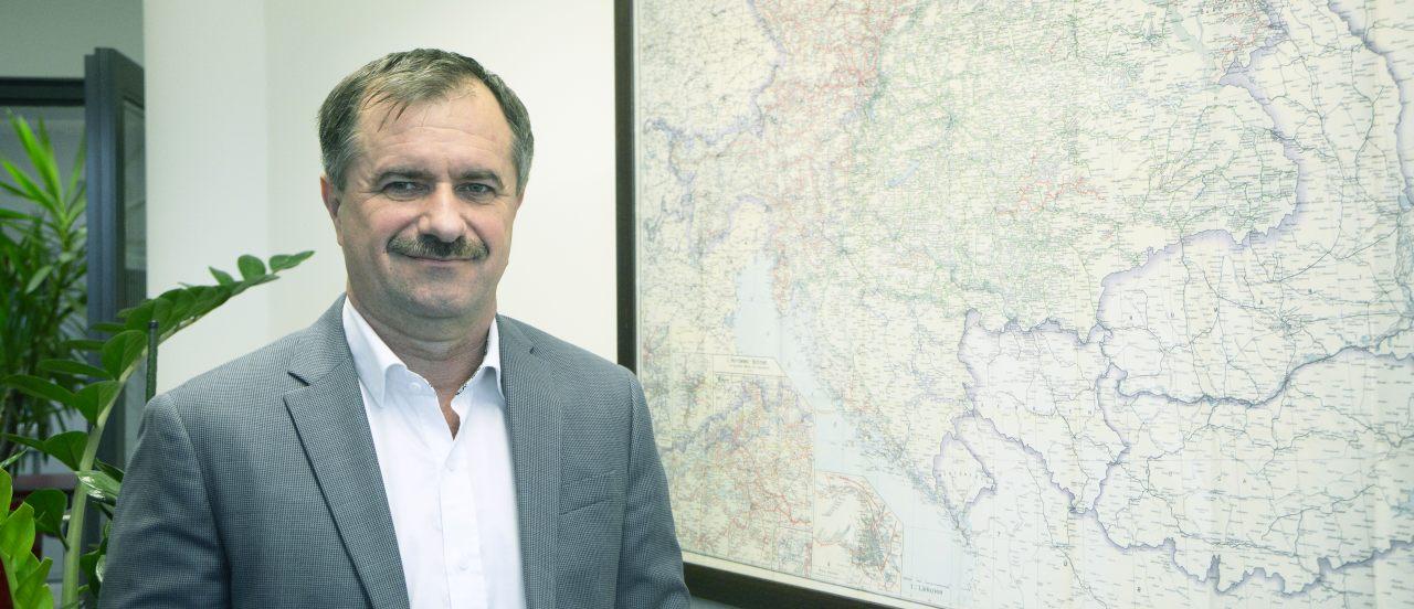Dr. Kovács Imre, a Rail Cargo Hungária elnöke, a Rail Cargo Austria AG igazgatósági tagja