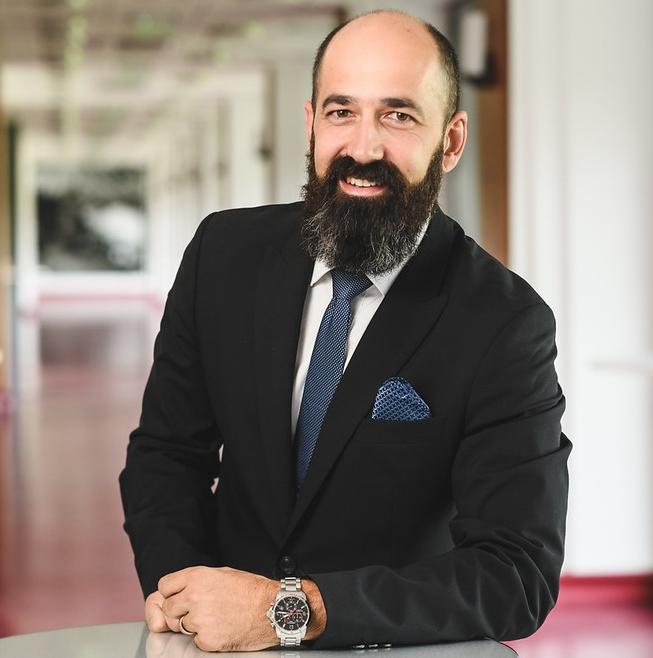 Málits József, az Alpha-Vet Állatgyógyászati Kft. ügyvezető igazgatója