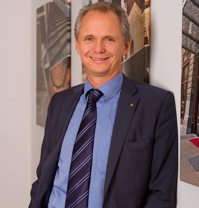 Markovich Béla, a Mapei Kft. ügyvezető igazgatója