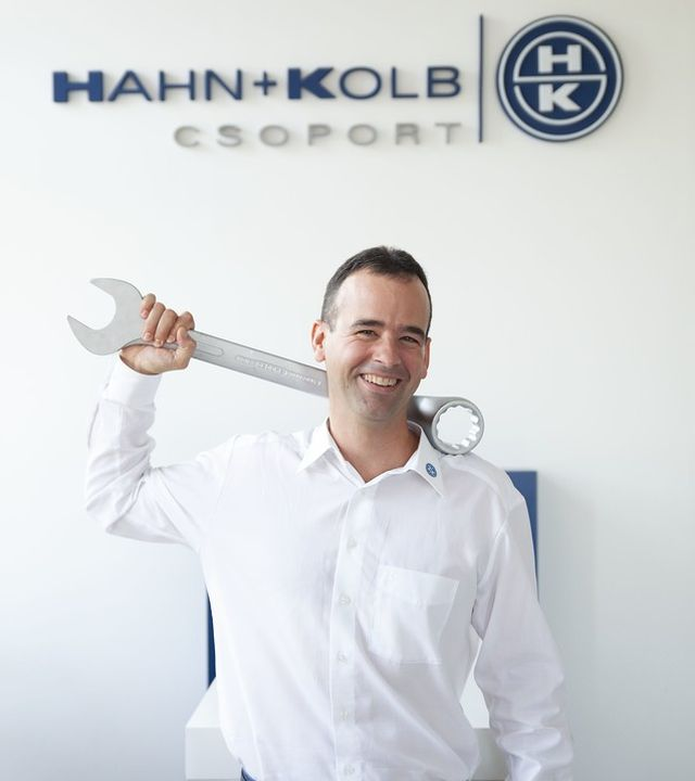 Németh Zoltán, a HAHN+KOLB Hungária Kft. ügyvezető igazgatója
