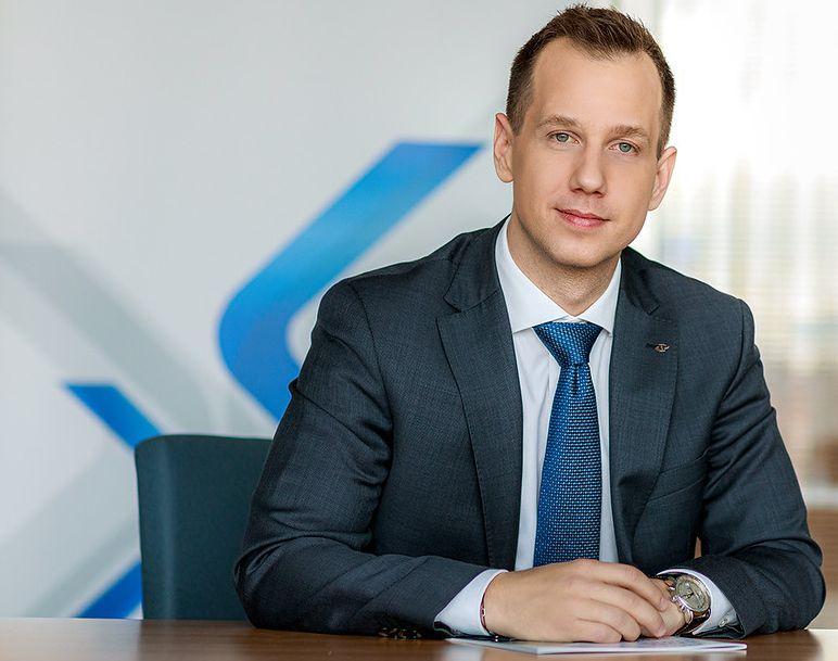 Skierniewski Bogoslav, a PKP Cargo International HU Zrt. vezérigazgatója, az igazgatóság tagja