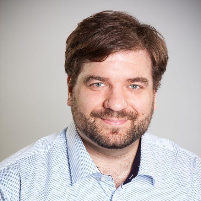 Szabó András, az iData társalapító ügyvezető igazgatója