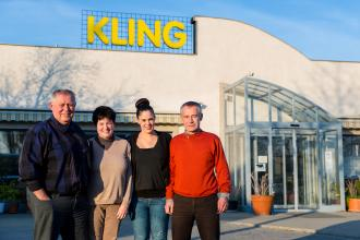 családi vállalkozás, Kling, generációváltás
