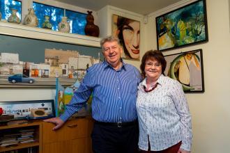 festmények, gyűjtők, gyűjtemények, Völgyi-Skonda házaspár