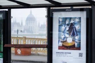 utcai kiállítás, kortárs képzőművészeti plakátok
